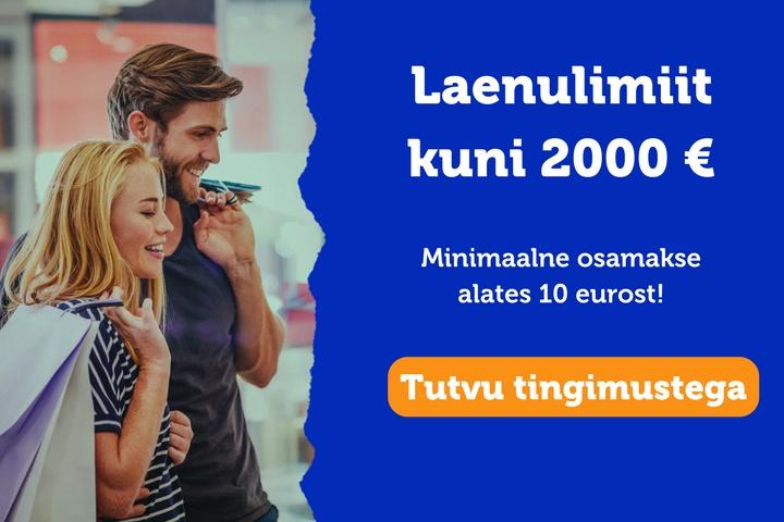 2000 eurot pakkumine